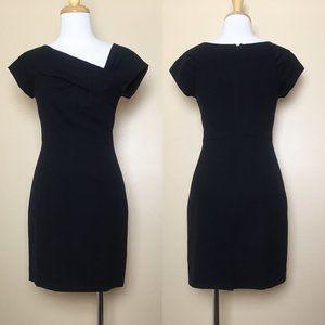 J. Crew Origami Wool Asymmetrical Sheath Dress
